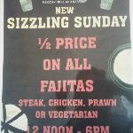Bargain Sizzling Sunday