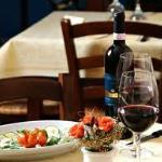 antipasto e vino