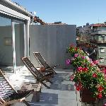 la terrazza sui tetti