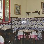 This is a corner of the main dining room.