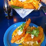 Fish Tacos and Fish n' Chips