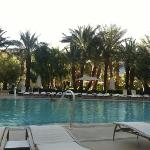 one of the three guest pools