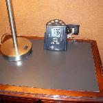 The classic Hilton clock radio