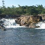 bagnaide dans la riviere