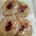 Linzer cookies - crushed