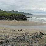 La spiaggia a pochi passi dal B&B