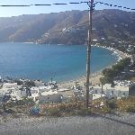 Θέα προς παραλία