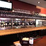 We offer over 40 wine by the glass selections and an additional 350 wine by the bottle offerings
