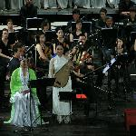 World Master Pham Thi Hue and Orchestra performance in Opera house