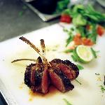 lamb rack from New Zealand