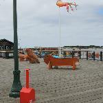 Old Town Bandon Harbor Docks Port Restaurant and Shopping