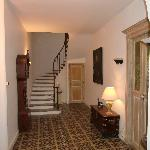 hallway ..winding staircase