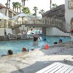 Splashtopia kiddie pool and lazy river entrance