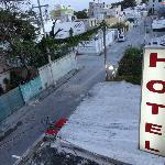 Zona donde se encuentra el hotel, desde la vista de nuestra habitación