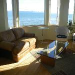 This is the living room, with gorgeous views