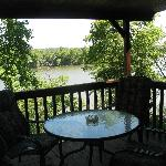 View from Cabins