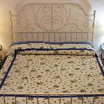Blue Room - Bed