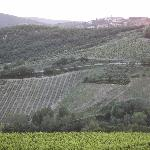Radda in Chianti (as seen from front of Villa)
