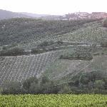 Radda in Chianti (as seen from front of Villa)