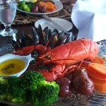 Lobster with mussels