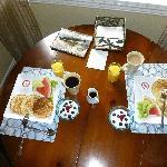 Home made breakfast