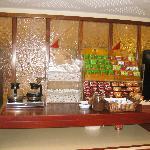 Coffee & tea station, Prima Kings, Jerusalem, Israel