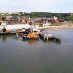 North Shields Fish Quay from the Tyne