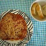 Albóndigas italianas deliciosas! Delicious meat balls!