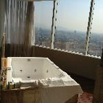Amazing Jacuzzi with View in bathroom Suite 2401