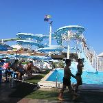 Arenas pool and slides