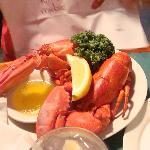 Twin Lobster Dinner $14.95