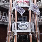 Front view of Stripers Bar and Grille