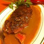strip steak is great