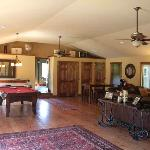 Games Room/Lounge at the Cedar House on Sound