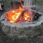 Nightly campfire.