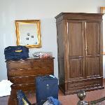 Wardrobe in master