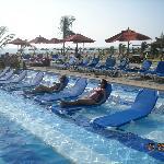 Excelentes reposeras para relajarse en la piscina