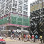 Haipong road corner Canton road is where the hotel is located