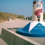 Liberty Marker 00km on Utah Beach