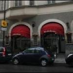 Restaurangens fasad.