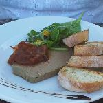 Pate and sweet tomato relish....gorgeous