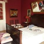 The Vitoria Room (the sitting area with chaise longue out of sight to left)