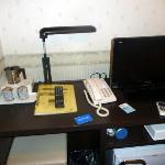 Desk and room utilities