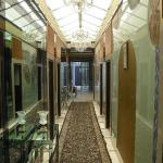 The annex hallway