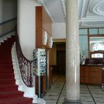 Stairs & reception