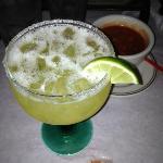 Slightly sweet 1800 Margarita, $8