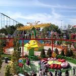 View of rides.