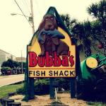 Bubba's Fish Shack in Surfside Beach