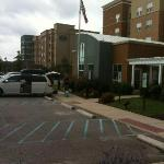 Residence Inn & Courtyard Marriott next door