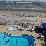 Room View of pool& beach
